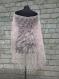 06 ÉlÉgante chÂle de tricot tricotÉ main. chale pour la mariÉ couleur poudre rose