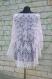 08 ÉlÉgante chÂle de tricot tricotÉ main. chale pour la mariÉ couleur pale rose