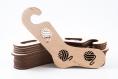 01.01 chaussettes en bois bloqueurs xs taille - paire (2pc), formes de chaussettes, bloqueurs de chaussettes à la main, chaussettes tricotées à la main idée cadeau tricot