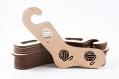 01.02 chaussettes en bois bloqueurs s taille - paire (2pc), formes de chaussettes, bloqueurs de chaussettes à la main, chaussettes tricotées à la main idée cadeau tricot