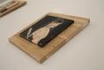 La déterminée (tableau unique en terre cuite)