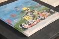 Senna (tableau unique en terre cuite)