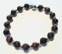 Bracelet en perles naturelles 6 mm : œil de tigre