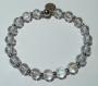 Bracelet en perles naturelles 6 mm : cristal de roche