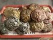 Micro sculpture pour frigo, chimpanzé sur magnet