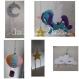 Mobil bébé licorne et montgolfière
