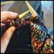 Coussin laine malabrigo