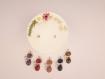 Bougie bijou décoration fleurs séchées pendentif chat pierre de nuit