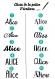 Bavoir serviette élastiqué prénom personnalisé coton éponge motif rose claire