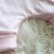 Salopette sarouel doublée réversible avec poches panda rose