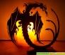 Dragon sur socle à poser