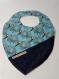 Bavoir pour bébé  inspiration montessori tissu coton et éponge