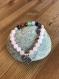 Bracelet 7 chakras quartz rose