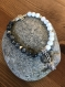 Bracelet yin yang tortue en pierres naturelles