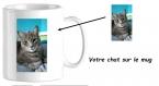 Mug en céramique personnalisable avec la photo de votre chat