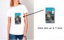 T-shirt avec votre chat