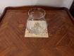 Dessous de verre en bois pyrogravé (10 x 10 cm)