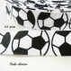 Ruban gros grain blanc ballon de foot / football de 22 mm vendu au mètre