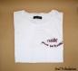 T-shirt résiste, prouve que tu existes ! france gall, brodé à la main en coton