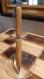 Stylo bois d' olivier de corse gravure offerte, fait main par cadeauxwood