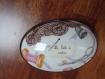 Boîte à couture en porcelaine