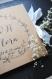 Livre d'or floral evjf mariage / guest book wedding, personnalisé noms mariés, encre noire calligraphie, couronne, fleurs