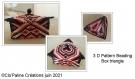 Motif : 3 d beading pattern