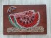 Tableau pastèque string art