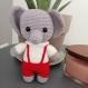 Doudou Éléphant au crochet