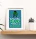5 affiches superhéros avec citation humoristique, chambre enfant ou salle de bain, affiche citation, cadeau pour garçon