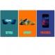 3 affiches pour ado, décoration adolescent avec smartphone, basket, lunette, teenager, cadeau ado