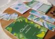 Ensemble cadeau calendrier des anniversaire + bloc-note + marque-page, étiquette, carte, box cadeau