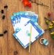 Mini bloc-notes, format a6, motif jungle exotic, petit cadeau, papeterie