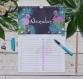 Calendrier des anniversaires, perpétuel et mural, cadeau, calendrier permanent