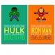 5 affiches superhéros avec citations écolos pour sauver la planète, affiche écolo, affiche humour,