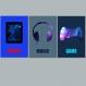 3 affiches garçon, ados, geek, adolescent, décoration garçon, musique, game, cadeau pour adolescent