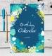 Calendrier des anniversaires bleu, perpétuel