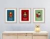 9 affiches super héros, décoration pour enfant et adolescent, chambre garçon, cadeau