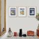 3 affiches sur lisbonne, motif azulejos, carreau de ciment, portugal