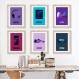 3 affiches pour adolescente, sport, style, music, cadeau, cosmique, décoration chambre de fille