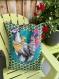 Grand coussin décoratif