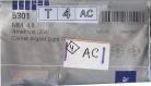 T4 5301 ac *** 40 toupies cristal swarovski réf. 5301 4mm amethyst cal
