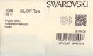 2058 ss8 ci ***  50 strass swarovski fond plat ss8 (2,45mm) crystal ab