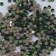 2058 ss9 dmg *** 50 strass swarovski fond plat 2,6mm dark moss green f