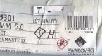 T5 5301 h *** 20 toupies cristal swarovski 5 mm jet hematite 2x