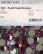 2058 ss40 r *** 6 gros strass swarovski fond plat 8,5mm rose f