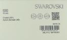 5000 10 ci *** 4 perles cristal swarovski rondes 10mm  crystal ab