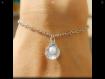 Bracelet coquillage et perle - bracelet femme