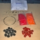 Kit bijoux en graines naturelles n°5 : 1 parure