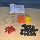 Kit bijoux en graines naturelles n°9 : 1 parure